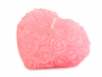 Decorative Candle 7x7.5 cm Heart