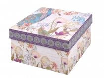 Paper Box with Lid - set of 3 pcs