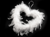 Feather Decorative Heart