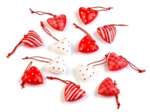Metal Decorative Hearts mix