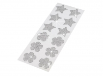 Decorative Art Stickers - Flowers, Stars