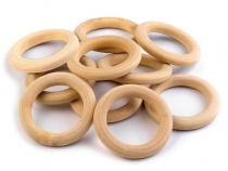 Wooden Curtain Ring Ø33 mm
