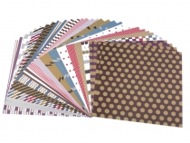 Set of Scrapbooking Papers