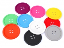 Cup Coaster Silicone Button
