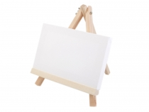 Mini Easel with a Canvas 18x23 cm