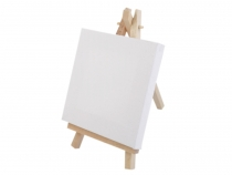 Mini Easel with a Canvas 10x15.5 cm