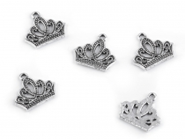 Charm 16x18 mm Crown