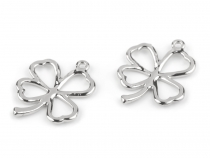 Four-leaf Clover Charm 20x24 mm