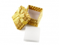 Jewellery Box Exclusive 5x5 cm with bow