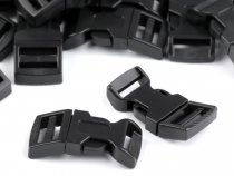 Side release Buckle with Strap Adjuster width 15 mm