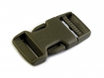 Side release Buckle with Strap Adjuster width 20 mm