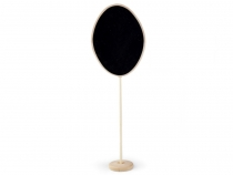 Chalkboard on Stand, big - oval, rectangle