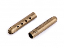 Cord End Tube Clasps 4.5x22 mm