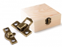 Hardware Small Box Locks 22x25 mm