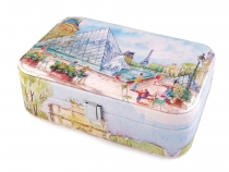 Small Paris Jewellery Box 7x14x22 cm