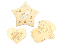 Christmas Decor Wooden Cut Out