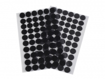 Hook And Loop Self Adhesive Circles Dots Ø15 mm