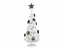 Decorative Wood Christmas Tree 32 cm