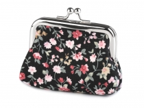 Coin Purse with Flowers