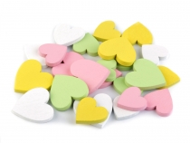Wooden Heart mix of sizes