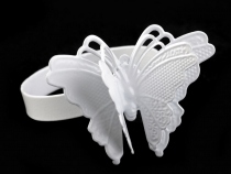 Metal Napkin Ring Butterfly