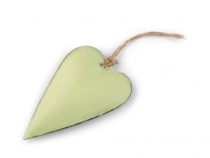 Metal Hang Heart Decor