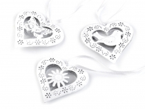 Metal Decorative Heart 8.6x8.8 cm