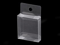 Clear Packaging Box with Hang Hole