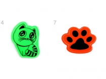 Reflective Stickers Cat, Paw