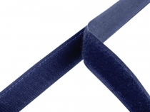 Hook and Loop Fastener width 20 mm dark blue