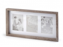 Wooden Deep Box Frame 22.5x40cm