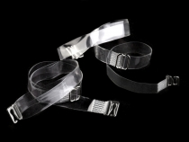 Invisible Clear Bra Shoulder Straps Replacement width 10 mm