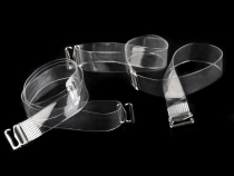 Invisible Clear Bra Shoulder Straps Replacement width 12 mm