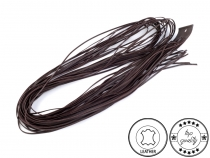 Leather String width 2 mm,  120 cm