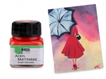 Acrylic Matt Paint for Decorations 20 ml