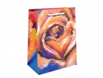 Gift Bag Flower Design 18x23 cm