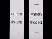 Clothing Labels - Composition and Care