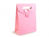 Gift Bag with Bow 19x27 cm 2nd quality