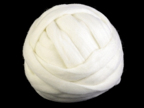 Carded Sheep Wool Extra Strong 500 g
