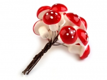 Artificial Toadstool Picks 18x21 mm