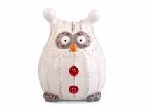 Christmas / Winter Owl Figurine