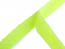 Hook and Loop Fastener width 20 mm neon green
