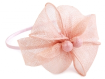 Fascinator Headband with Flower