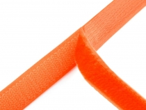 Hook and Loop Fastener width 20 mm orange neon