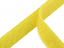 Hook and Loop Fastener width 20 mm yellow
