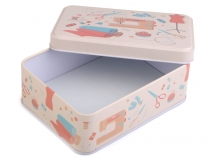 Sewing Tin Box