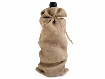 Jute Pouch Bag for Bottle 15x44 cm
