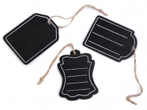 Chalkboard Label / Name Tag 6x8 cm