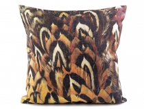 Pillow / Cushion Cover 43x43 cm Feathers