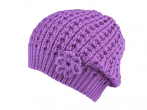 Girls Knitted Hat Capu